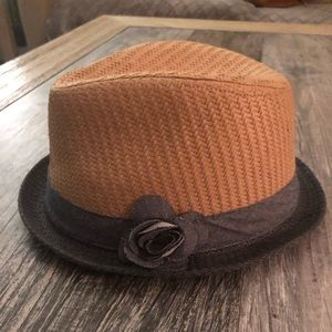 Other - Adorable toddler girl straw fedora